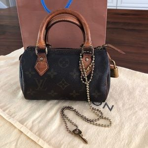 Louis Vuitton MINI Speedy vintage Exc condition
